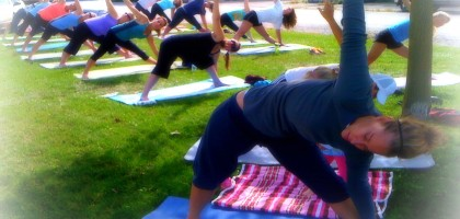 salutation nation - free outdoor classes