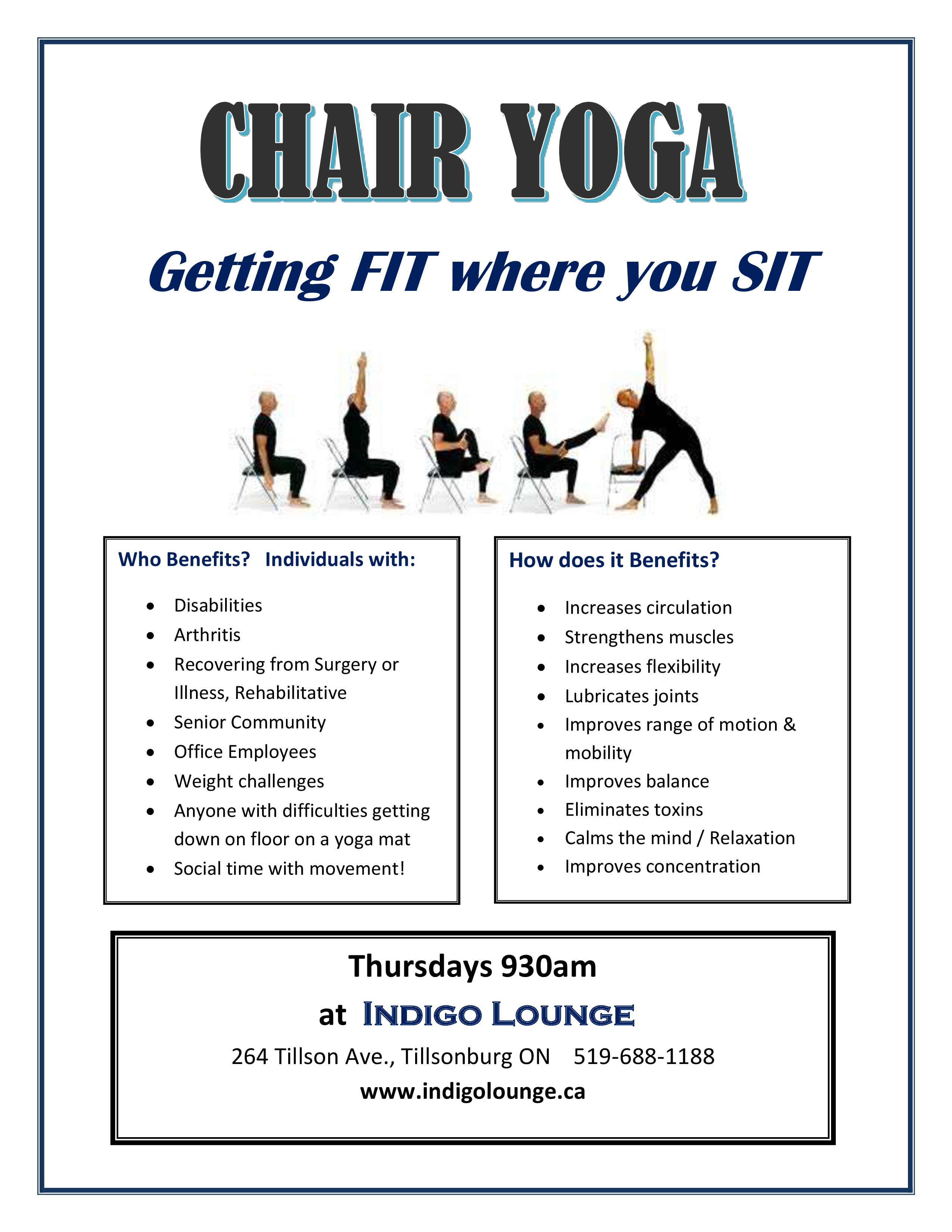 Chair Yoga Starts Indigolounge Ca