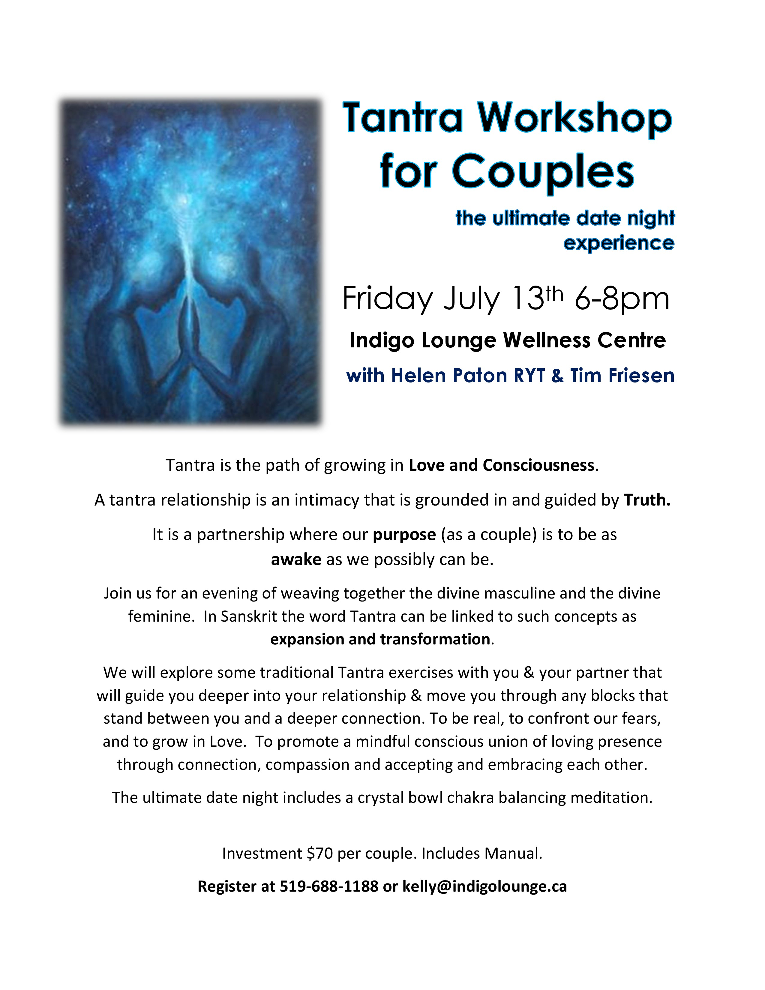 Tantra For Couples Date Night Indigolounge Ca